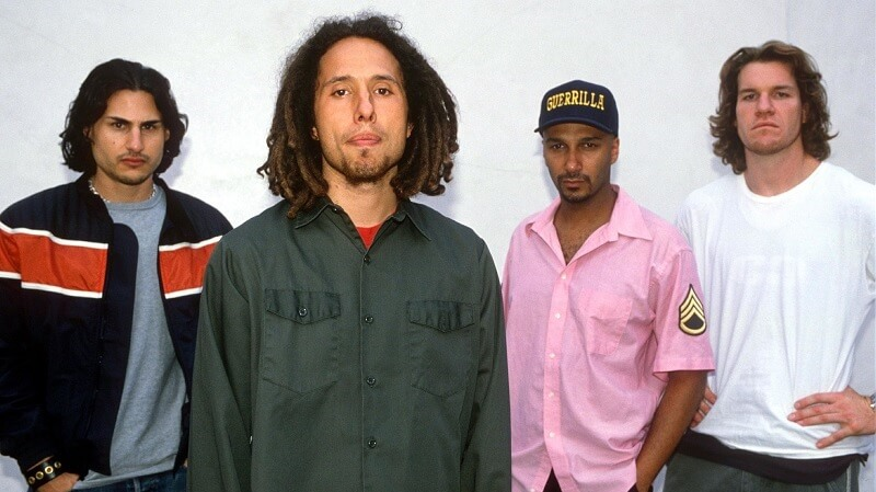 Rage Against The Machine Live Chicago