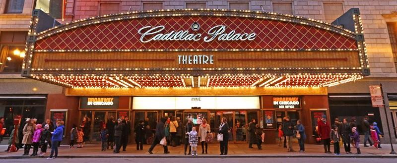 Cadillac Palace Tickets Cheap